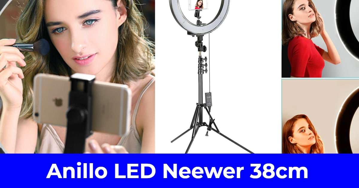 aro de luz led neewer