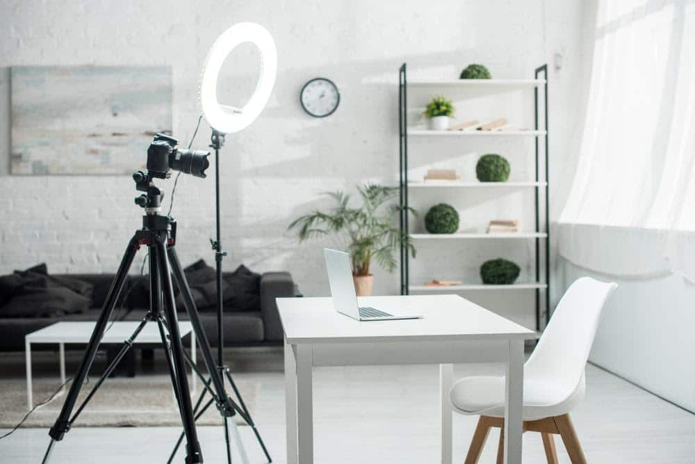 aros de luz para fotografías